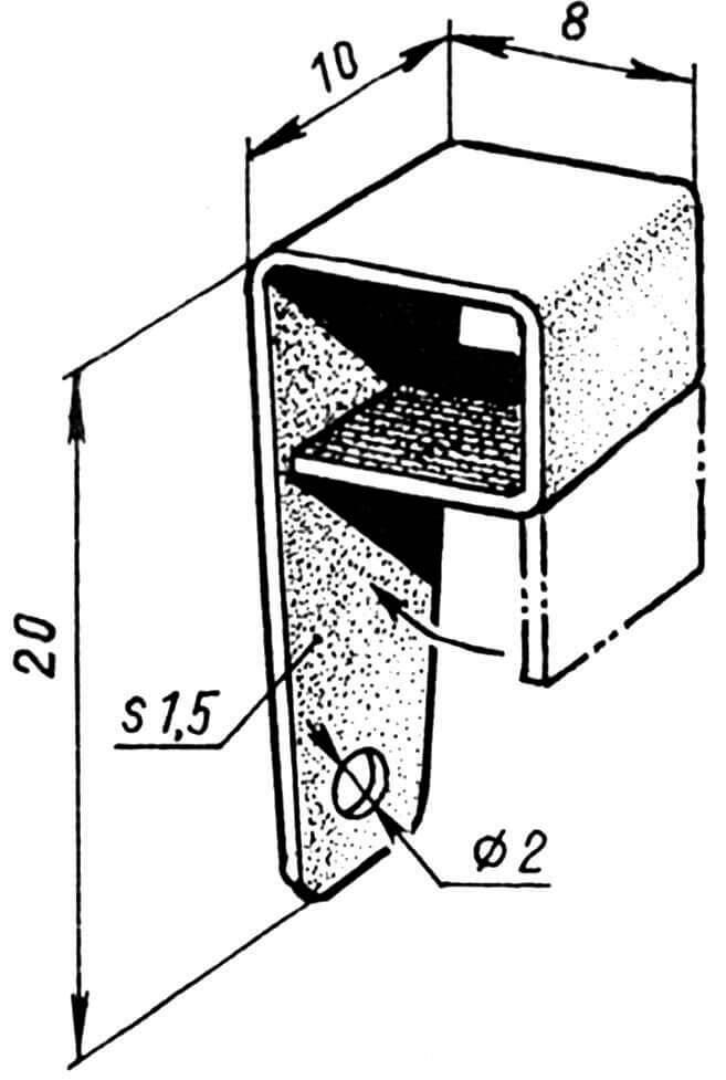 Кабанчик руля высоты (дюралюминий).