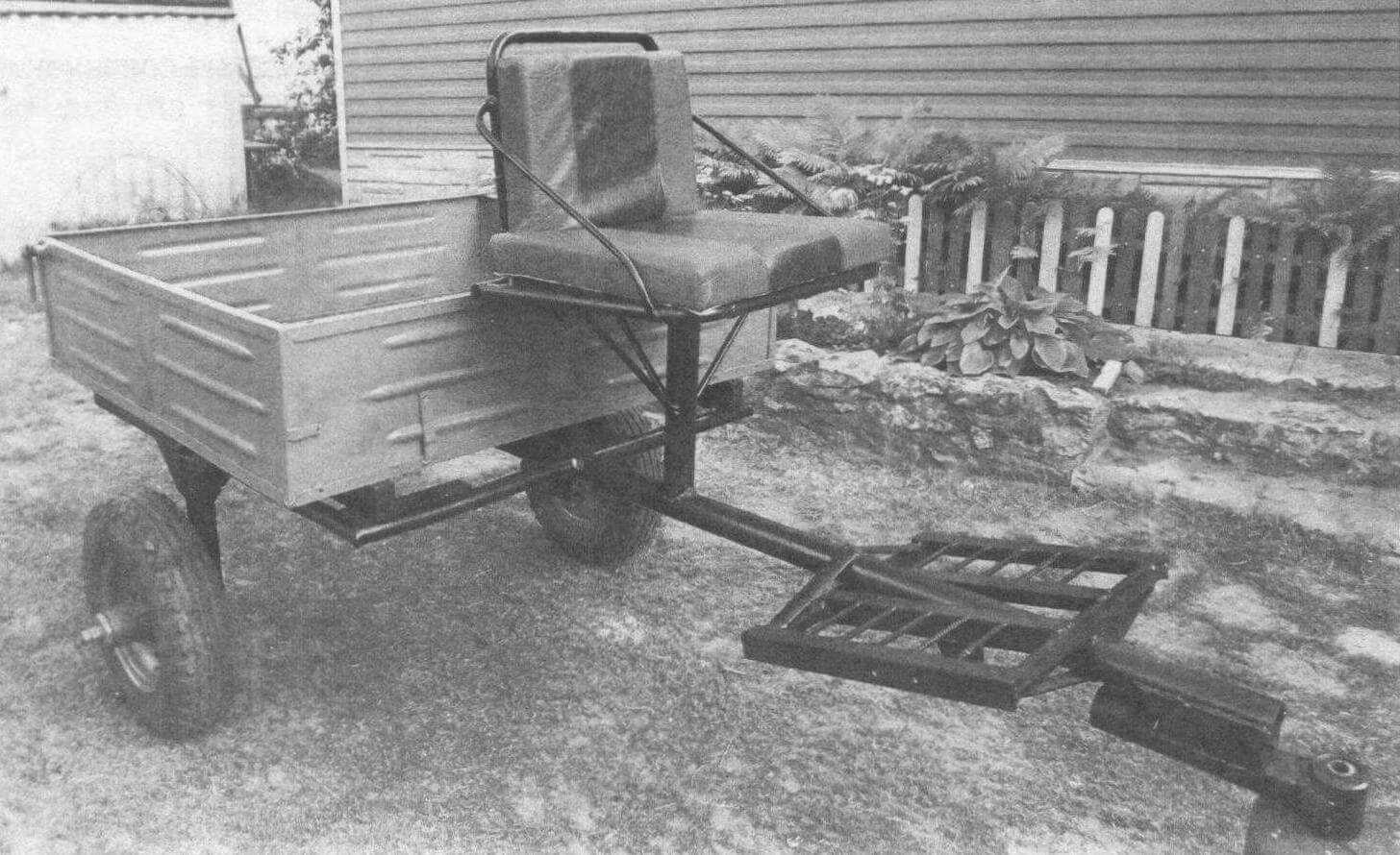 Вариант модуля с установленным грузовым кузовом
