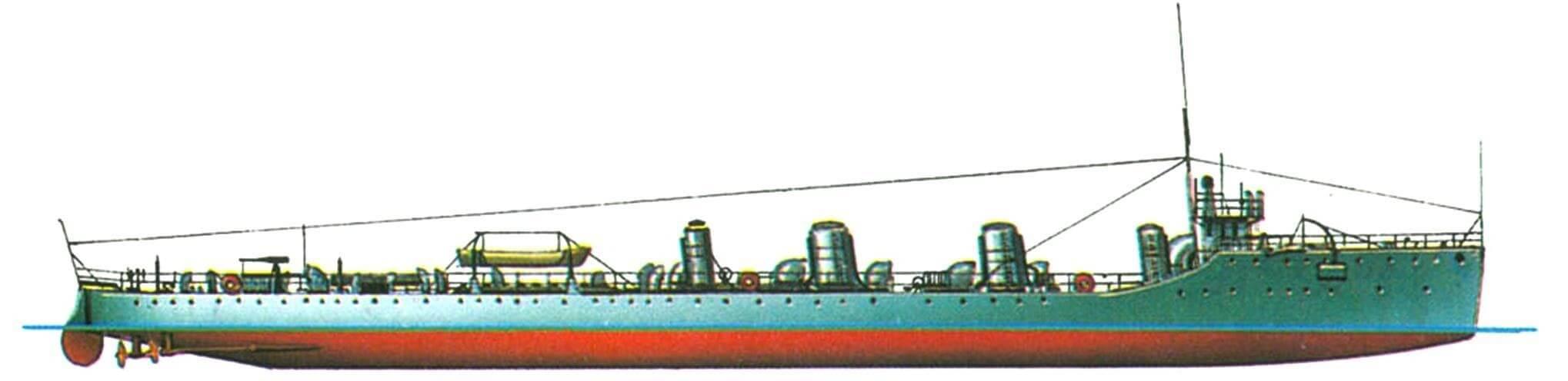 151. Эскадренный миноносец «Мохок», Англия, 1908 г.