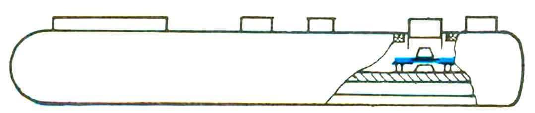 Наиболее часто загрязняемое место джойстика (выделено контрастным цветом).