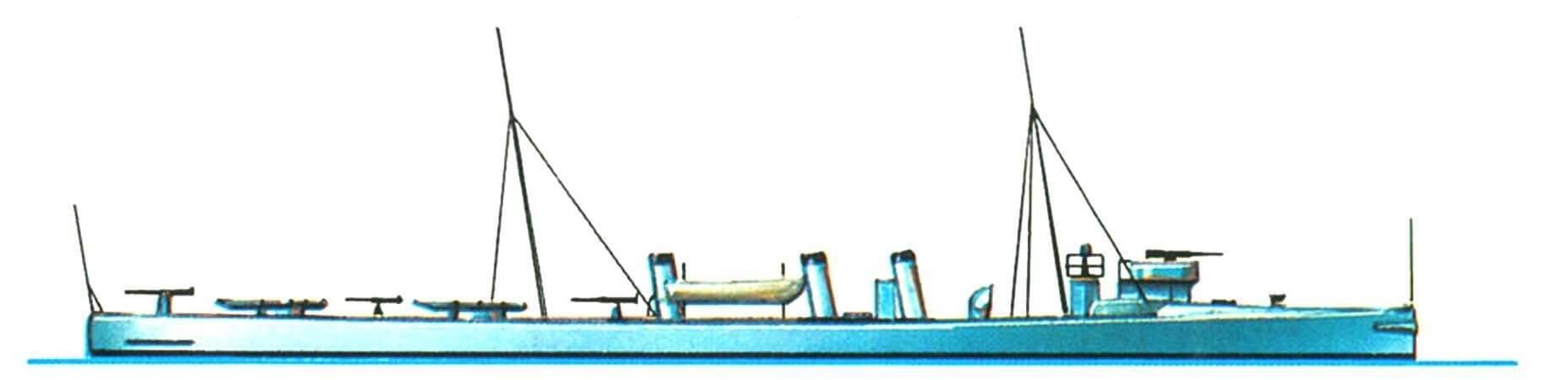 155. Эскадренный миноносец «Корриентес», Аргентина, 1897 г.