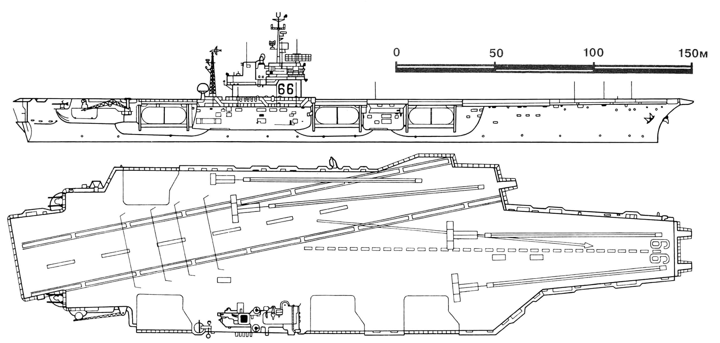 Ударный авианосец типа «Форрестол», проект 127В «Америка».