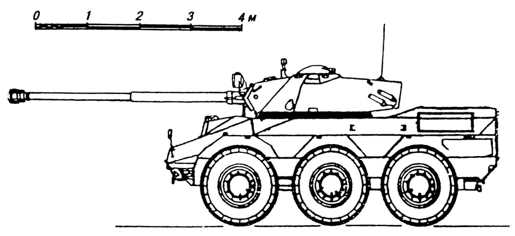 БРМ VBC-90 с 90-мм пушкой «Конерга» 90/46