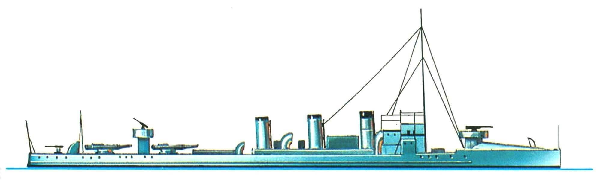 157. Эскадренный миноносец «Ники», Греция, 1906 г.
