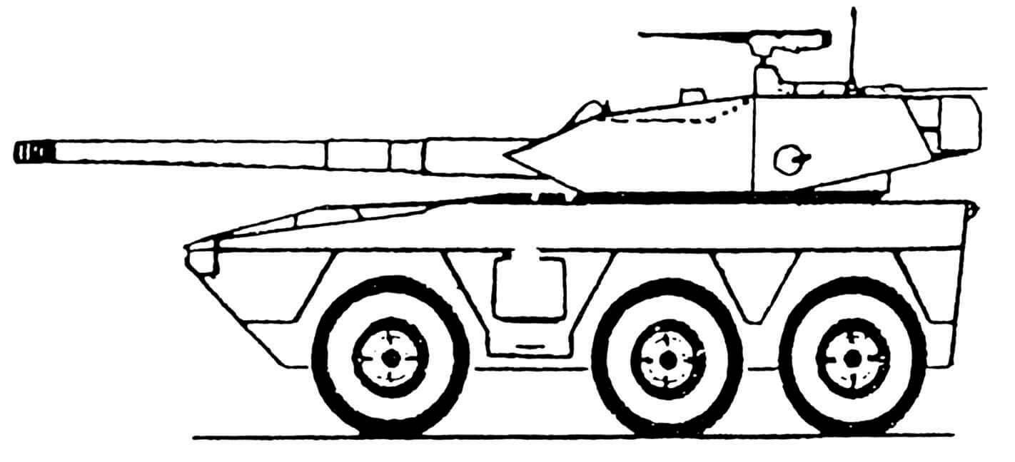 БРМ V-600 «Коммандо» со 105-мм пушкой L7A3