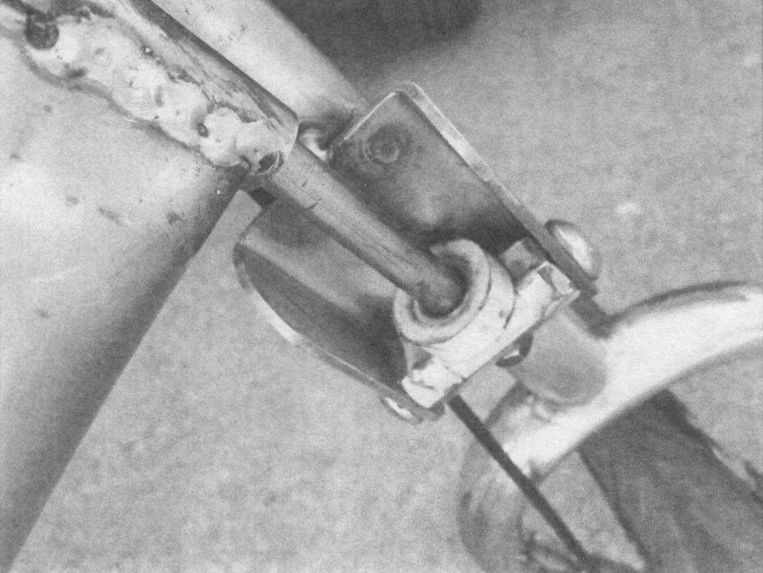 Ответственный узел - соединение двух «катетов» рамы