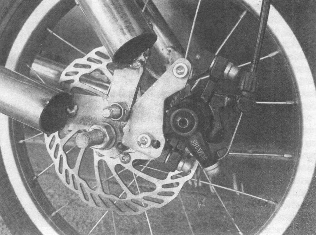 Соединение труб рамы в районе оси заднего колеса