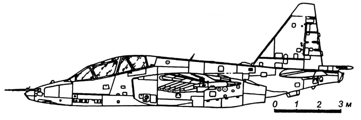 Су-25УБ.