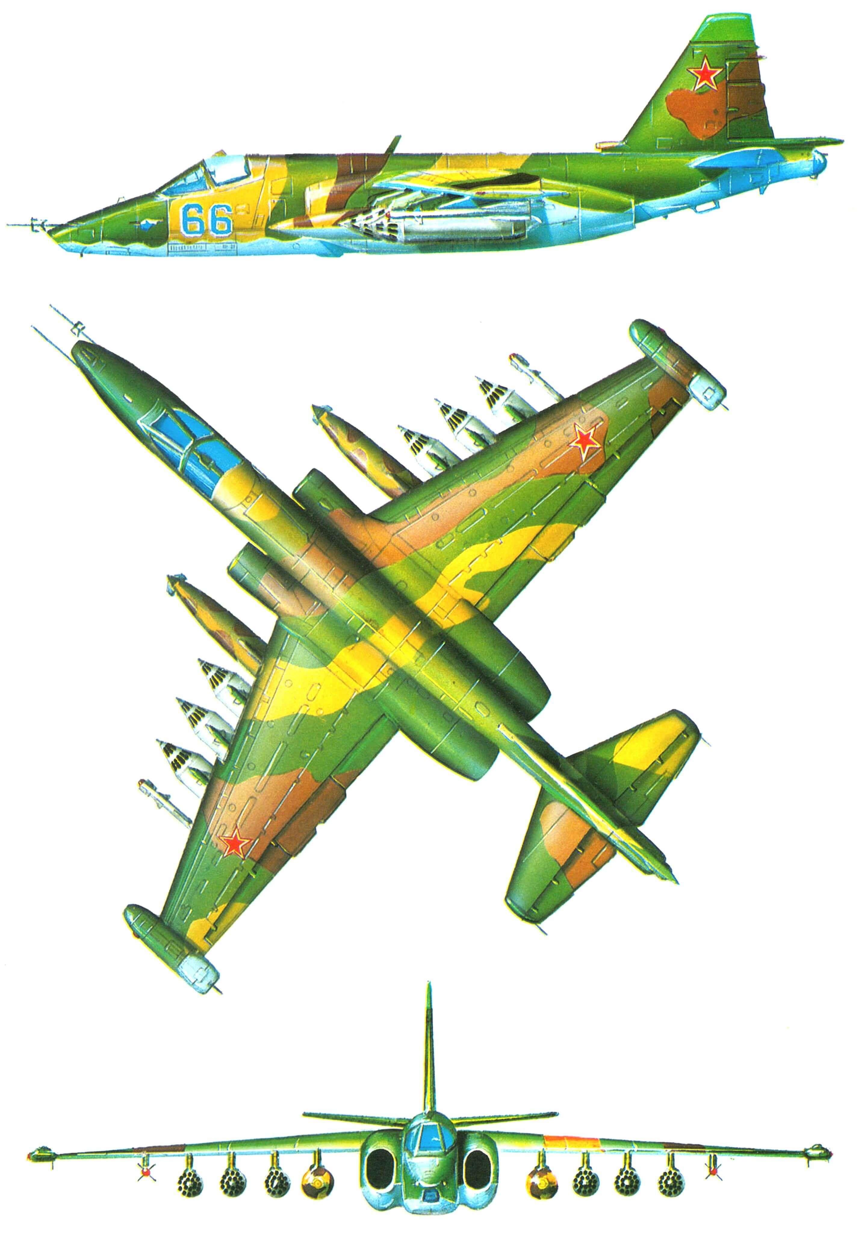 АТАКУЮТ «ГРАЧИ» (Штурмовик Су-25)