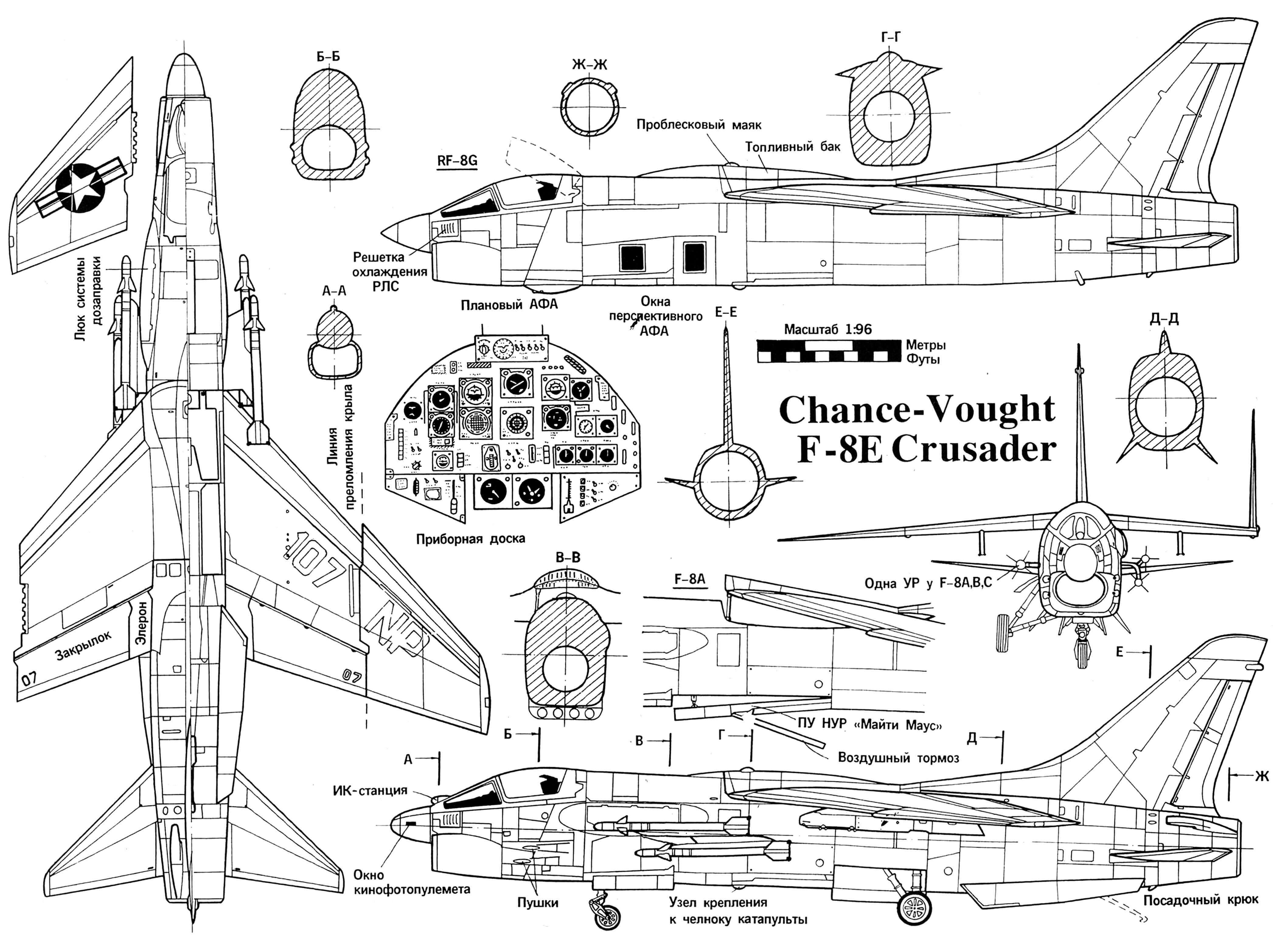 Chance-Vought F-8E Crusader