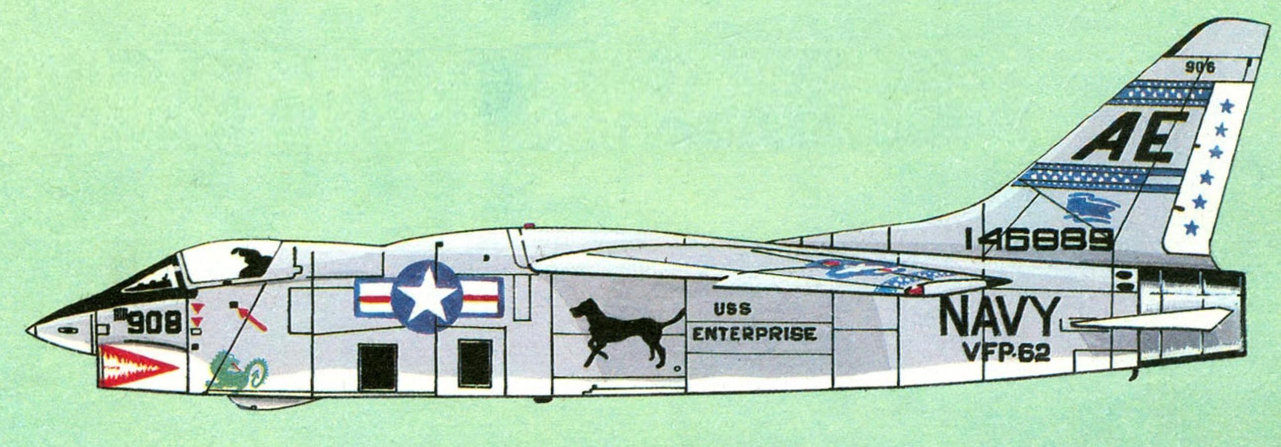 «ФЕХТОВАЛЬЩИКИ» ПРИХОДЯТ С МОРЯ (Истребитель F-8 «Крусейдер»)