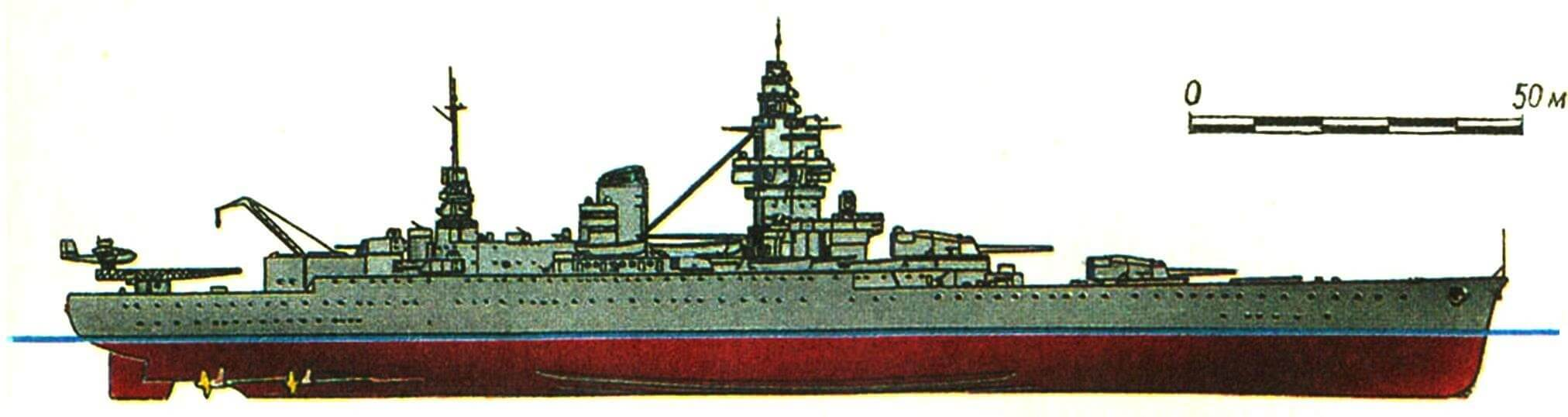 224. Линейный корабль «ДЮНКЕРК», Франция, 1936 г.