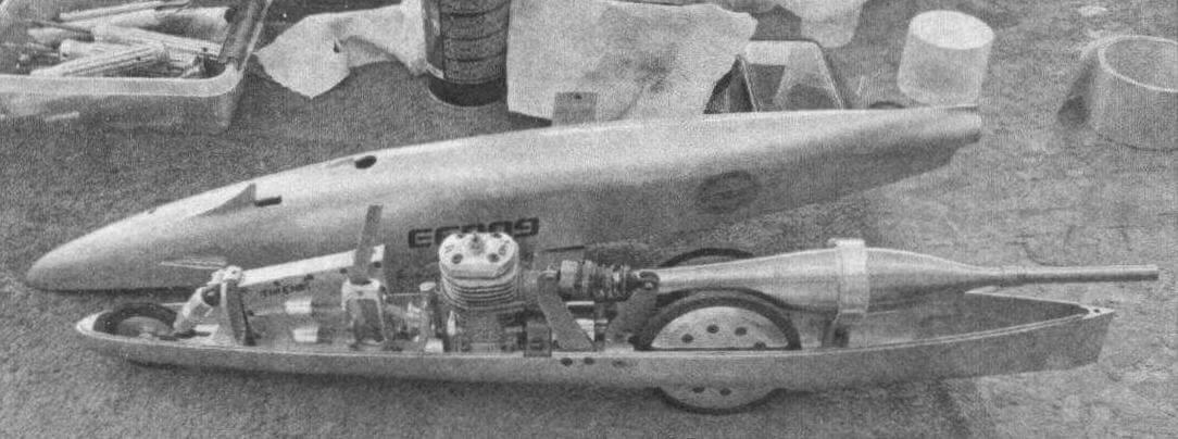 Рекордная модель (313,590 км/час, «класс 4») Тыну Сеппа из Эстонии