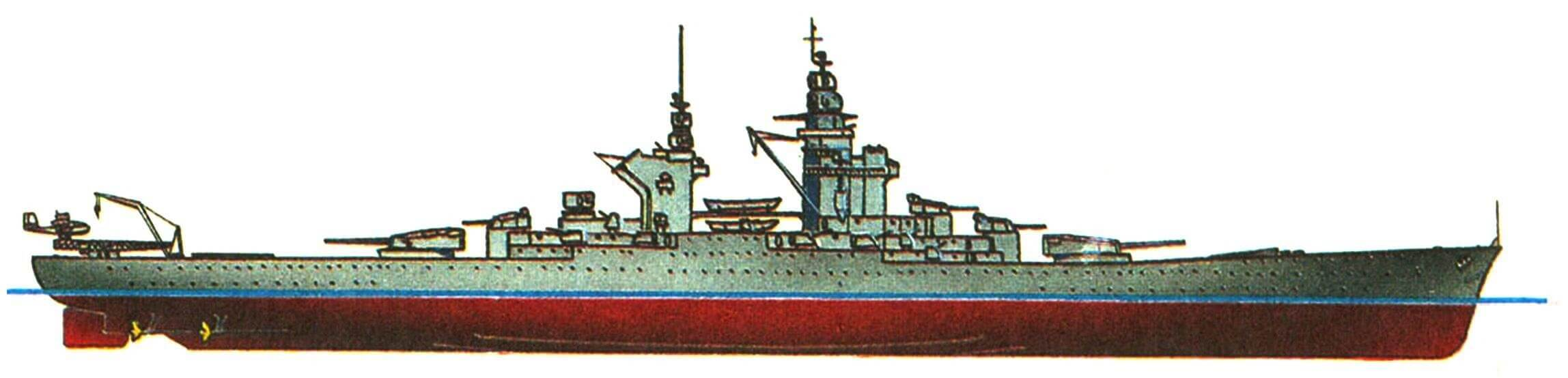 225. Линейный корабль «ГАСКОНЬ», Франция (проект).