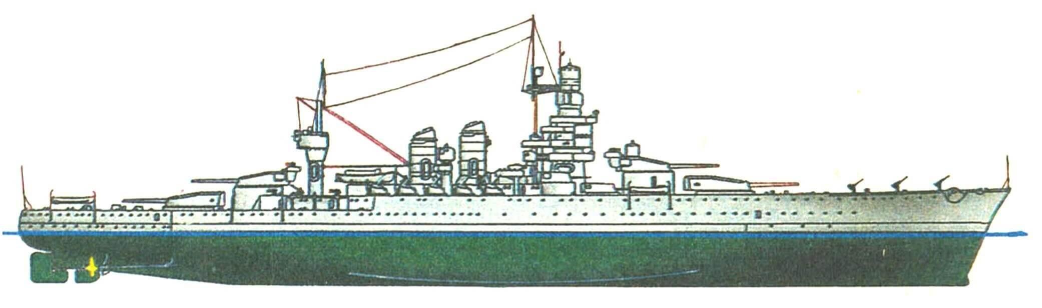 228. Линейный корабль «АНДРЕА ДОРИА», Италия, 1914/1940 г.