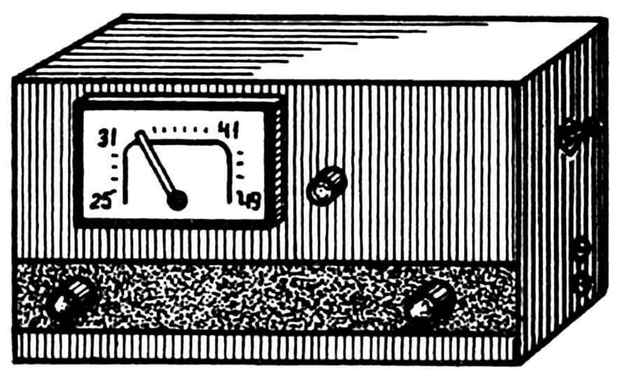 Рис. 4. Этот приемник изготовлен «по рецептам» 30-х годов, но на современной элементной базе.