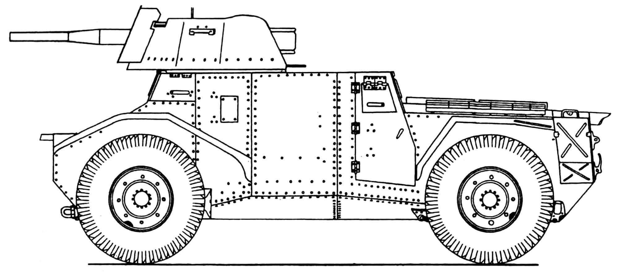 Pz.Spah.204 (f) с 50-мм пушкой.