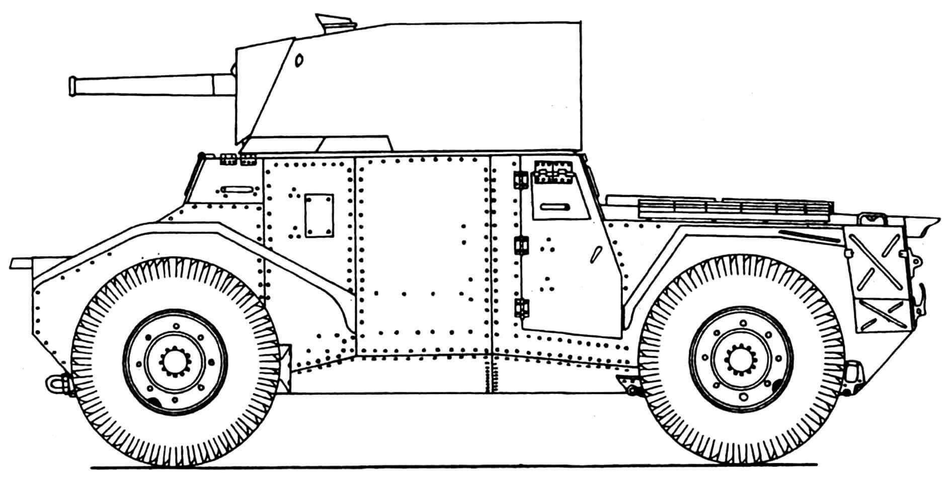 Бронеавтомобиль «Панар 178В».