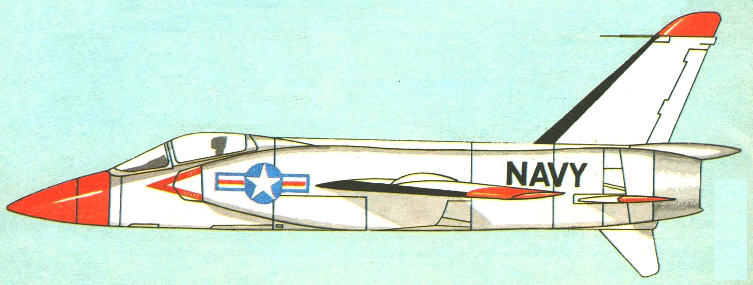 Опытная машина F11F-1F «Super-Tiger»