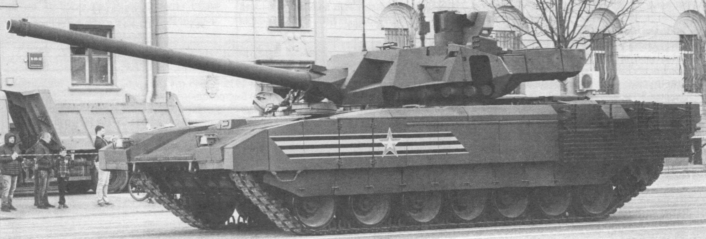 Основной танк Т-14 (Москва, 3 мая 2017 года)