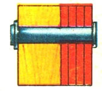Железная броня из катаных листов 1865 г.