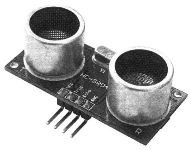 Ультразвуковой датчик расстояния-дальномер HC-SR04