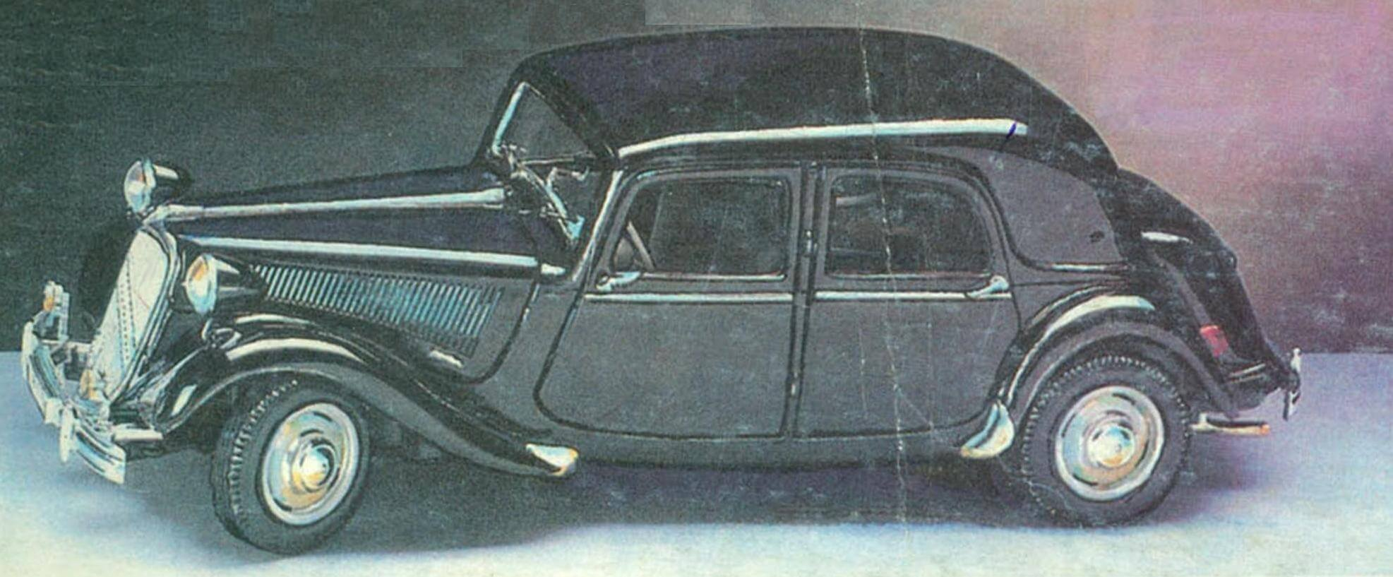 CITROEN 15CV 6 Cyl (1952)