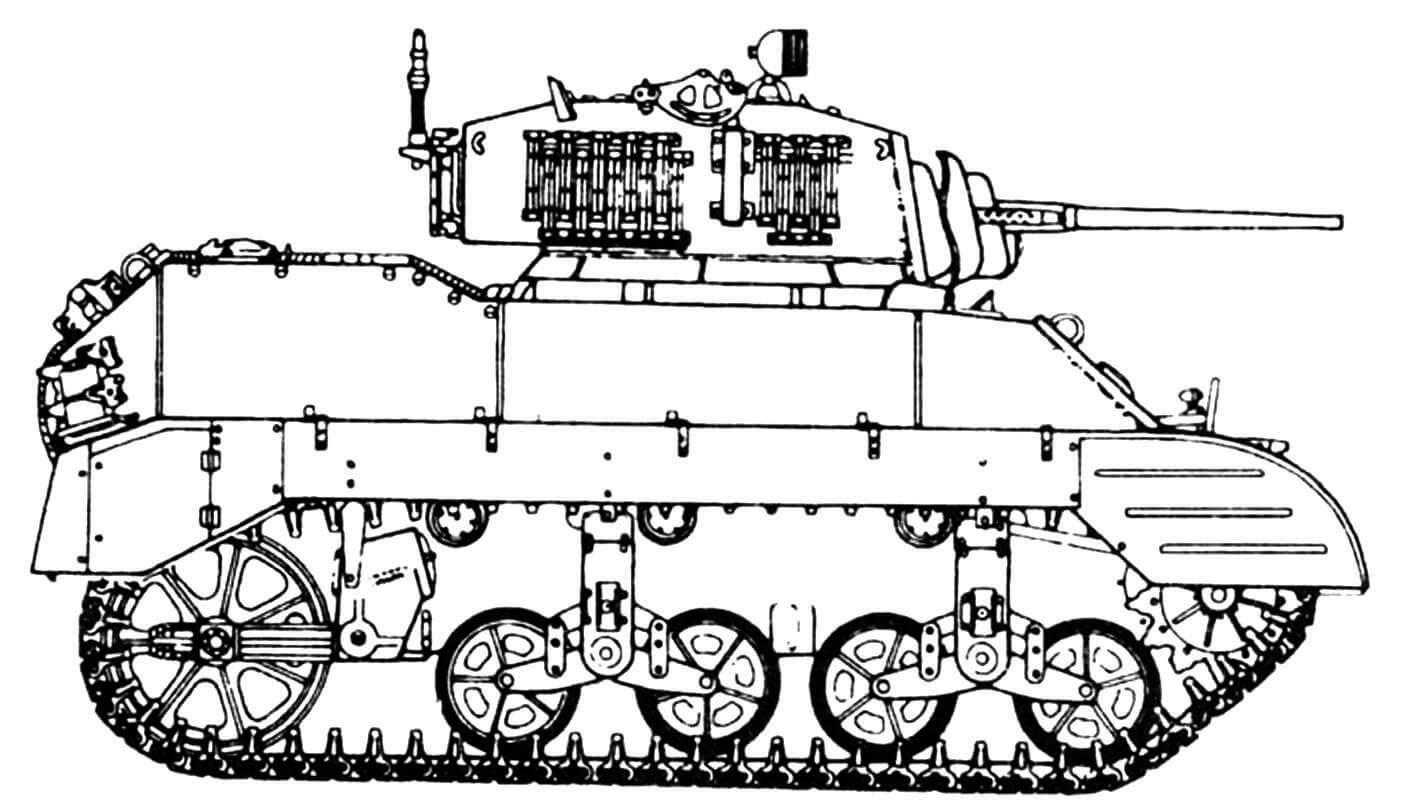 М5А1 ранних выпусков