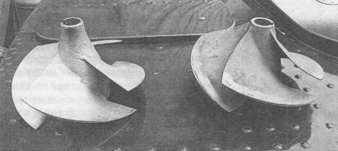 Винт (импеллер) от водомета катера «Амур»