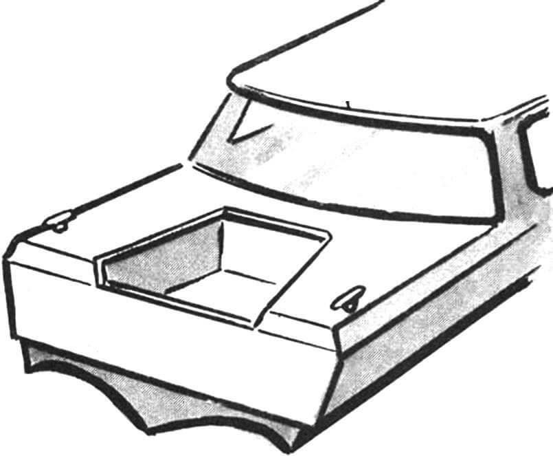 Рис. 5. Внешний вид ящика подмоторной ниши