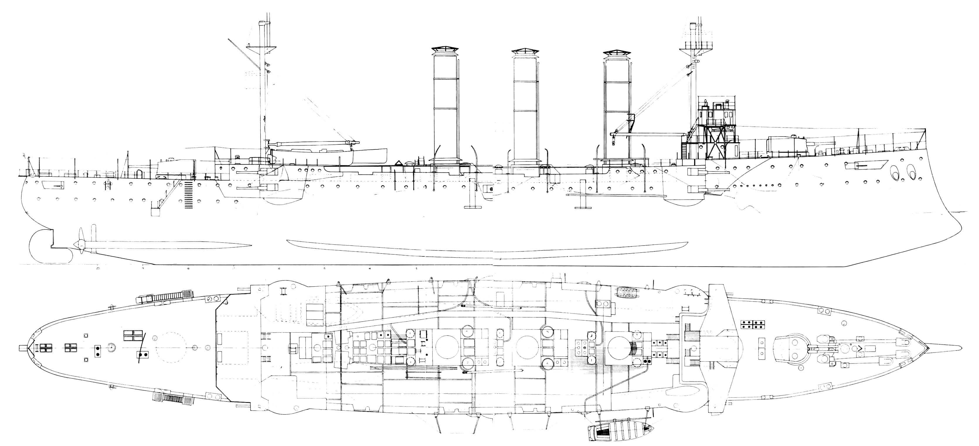 Броненосный крейсер «Кент»