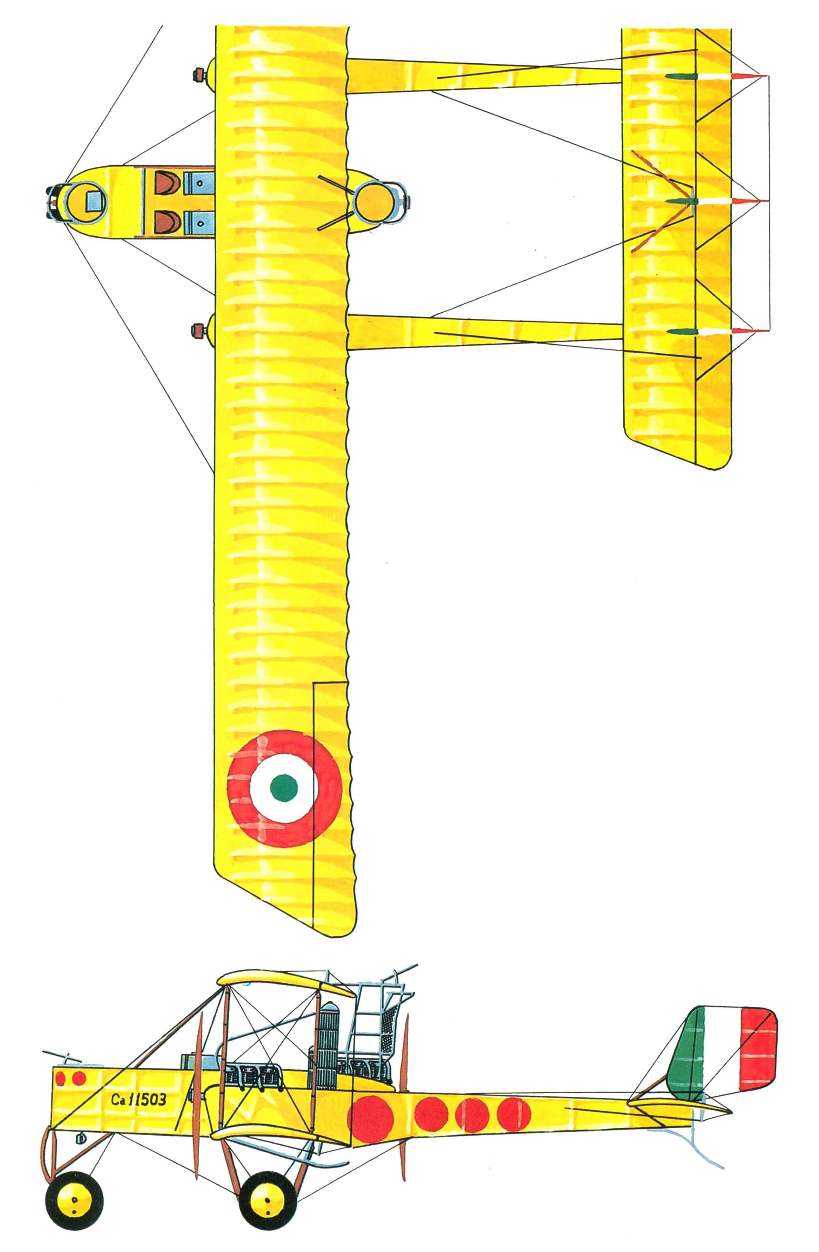 ВСЛЕД ЗА СИКОРСКИМ (Первые тяжелые бомбардировщики Капрони)