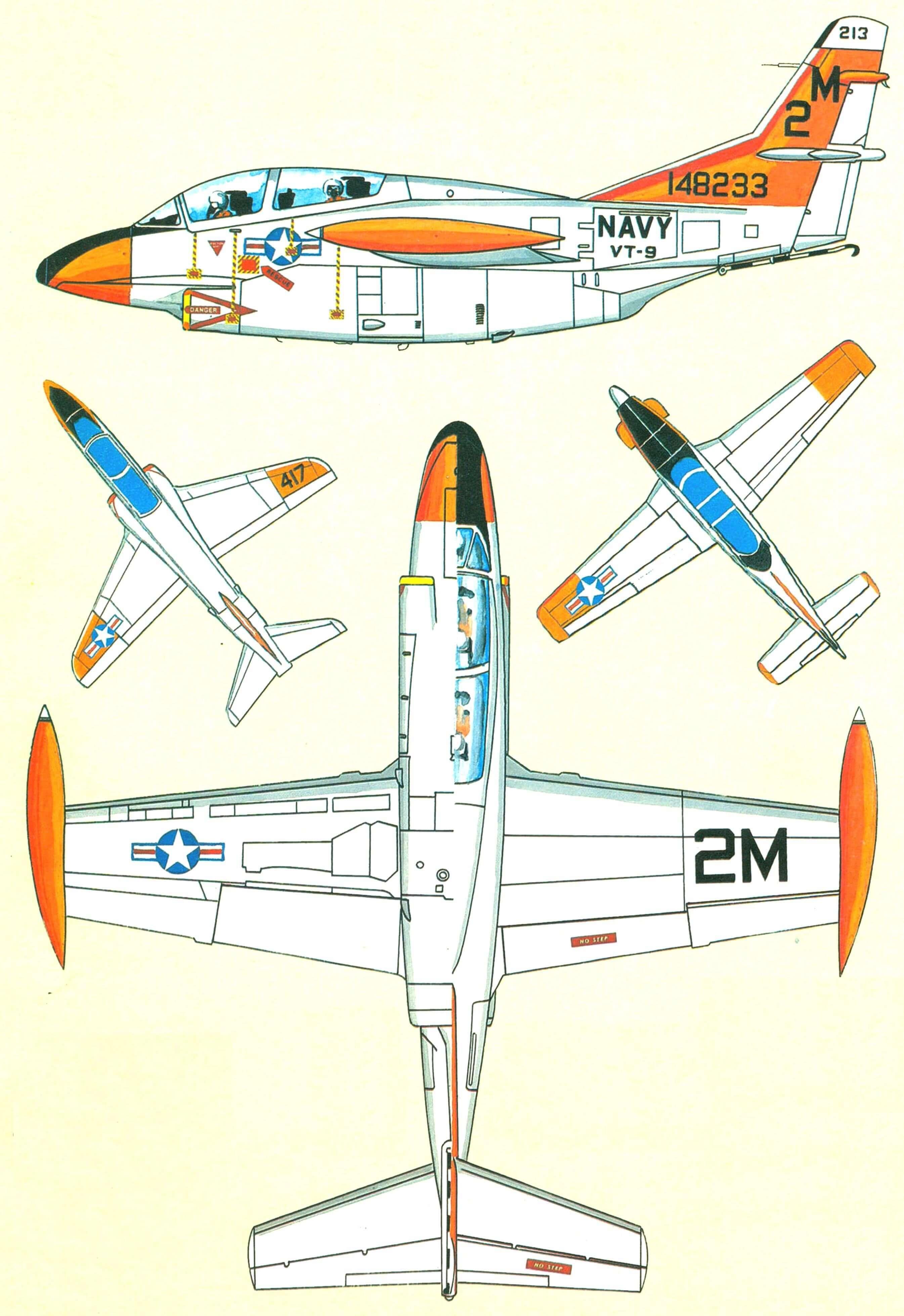 ЛЕТАЮЩИЕ «ПАРТЫ» (Палубные учебно-тренировочные самолеты)