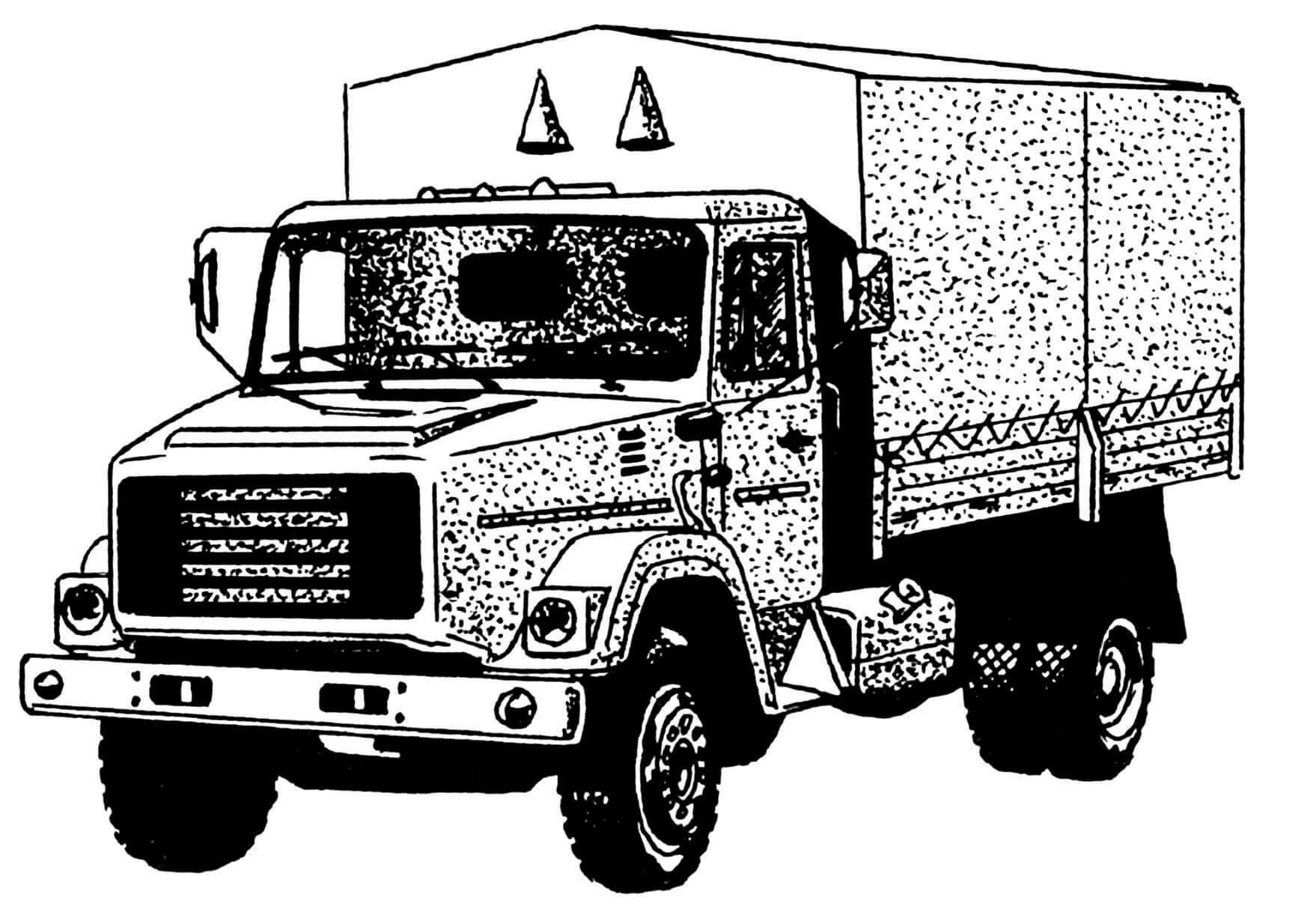 Промежуточный вариант автомобиля ЗИЛ-4331.
