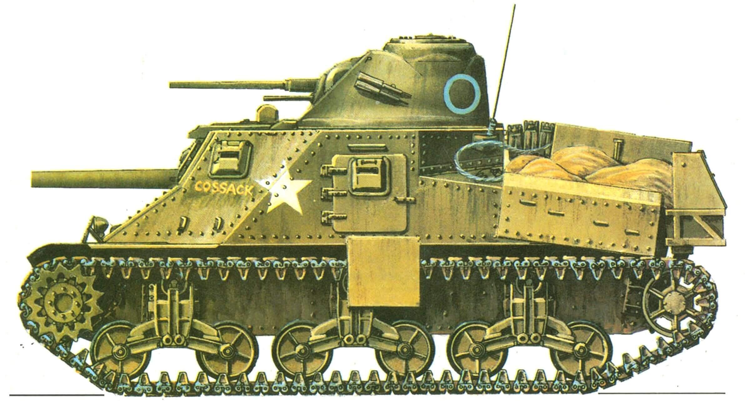 Lee I. Эскадрон «С» 150-го полка Королевского танкового корпуса (С Squadron, 150th Regiment, Royal Armoured Corps), Бирма, март 1945 года.