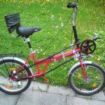 Удобный велосипед со спинкой без сварки