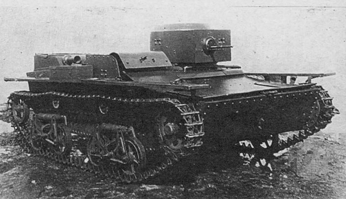МОДЕЛЬ ТАНКА Т-38