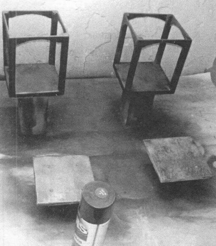 Процесс изготовления каркаса колпака