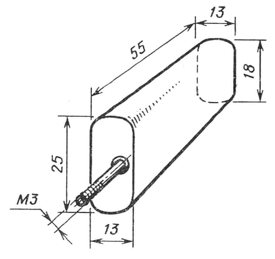 Рис. 6. Топливный бак со встроенным жиклером. Система заправки, дренажа и жиклера произвольная.