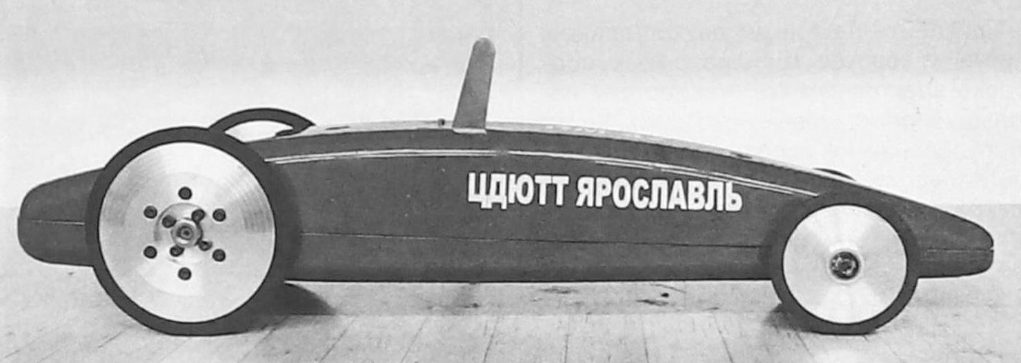 ЯРОСЛАВСКИЙ «ЮНИОР» Скоростная кордовая автомодель Junior 2.1