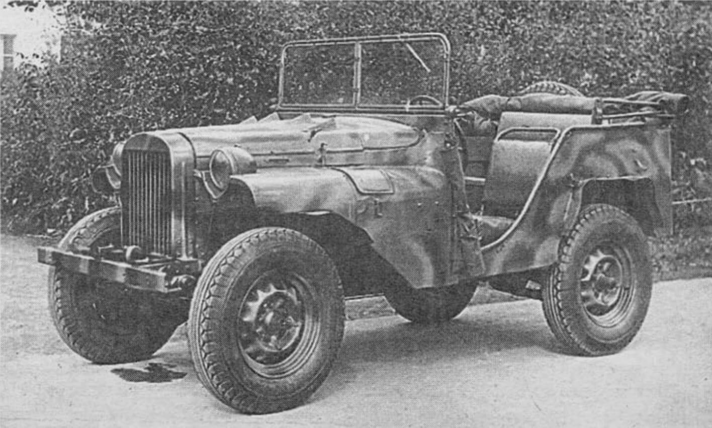 Автомобиль ГАЗ-64