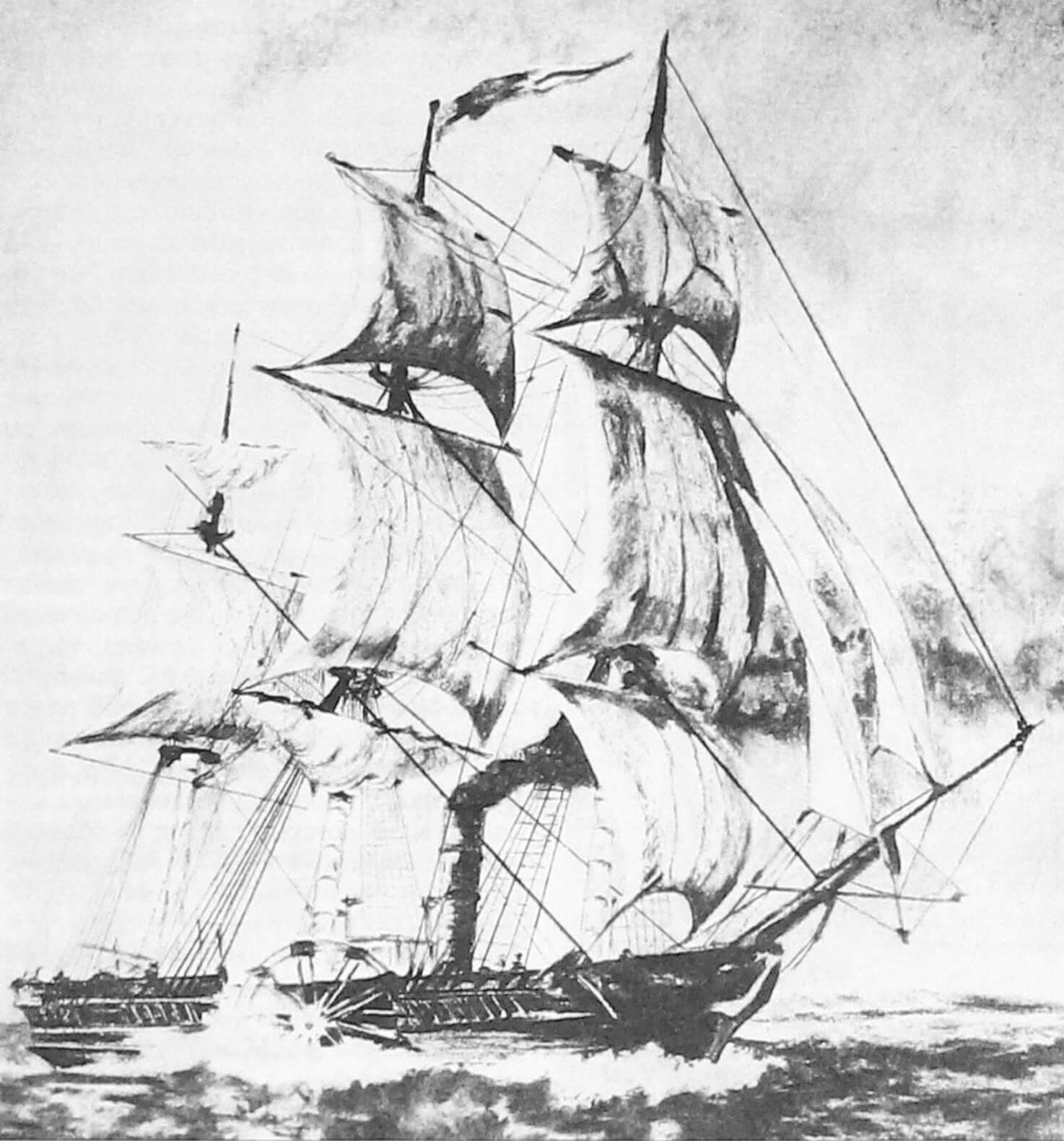 «Саванна» в море