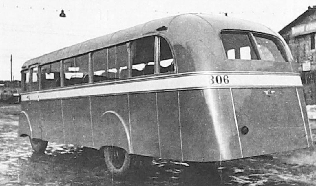 Автобус Л-1, Ленинград, 1946 - 1947 годы (фото предоставлено ООО «ТД «СПАРЗ»)
