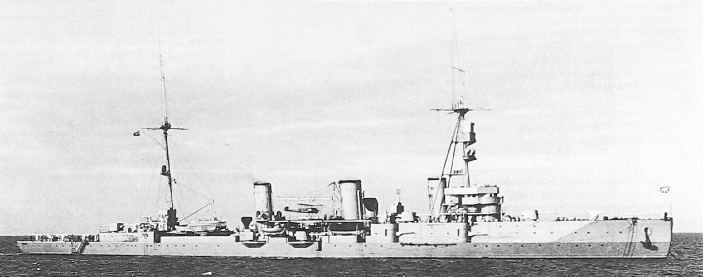 Крейсер «Червона Украина» в море, на палубе виден МУ-1 в роли корабельного радведчика