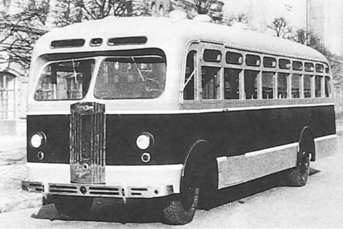 Автобус Л-3М, Ленинград, 1950-е годы