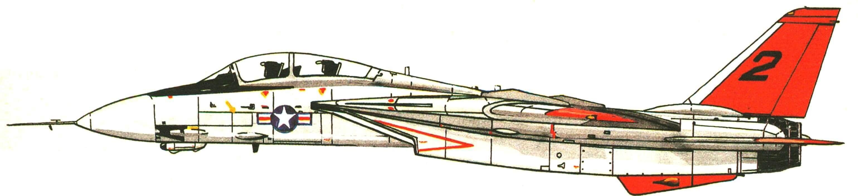 ПРИШЕДШИЙ НА СМЕНУ «ФАНТОМАМ» ИСТРЕБИТЕЛЬ F-14 «ТОМКЕТ»