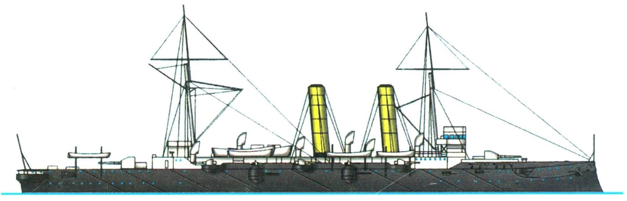 Бронепалубный крейсер «Бленхейм» (Англия, 1893 г.)