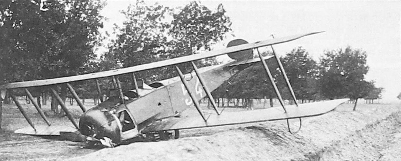 Авария учлета (курсанта) А. Жданова в Борисоглебске, сентябрь 1929 года