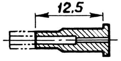 Рис. 5. Доработка жиклерной трубки по второму варианту модернизации двигателя.