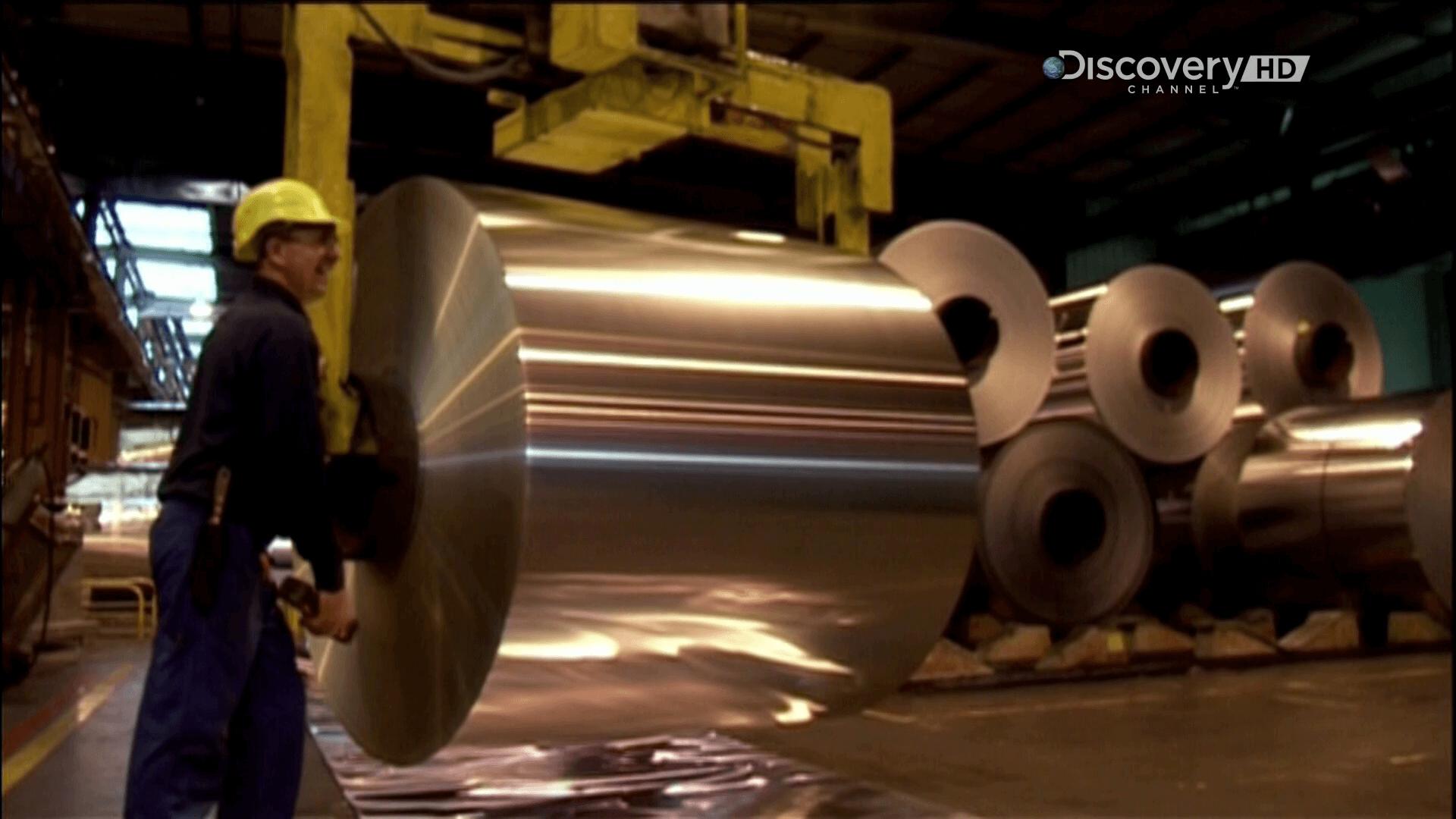 Алюминиевая фольга и ее производство